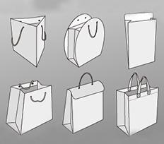 牛皮手提纸袋
