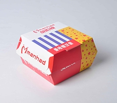 异型汉堡盒定制