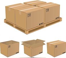 长方形包装箱