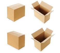 长方形纸箱